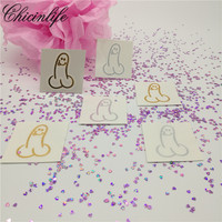 10Pcs Funny Willy Temporary Penis Flash Tattoos Penis Sticker Bride Team Hen Bachelorette Party Bridal Shower
