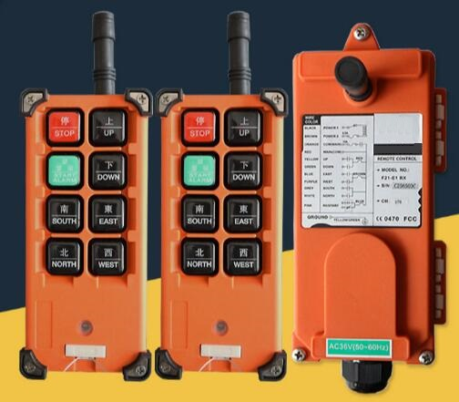 Free Shipping F21-E1B 24V 2PC transmitter 1PC receiver Motor control button Hoist crane remote control wireless radio Uting hoist crane remote control wireless radio uting remote control f21 e1b include 1 transmitter and 1 receiver 6 buttons 1 speed