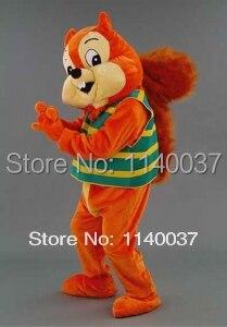mascot cute Squirrel mascot costume custom costume cosplay Cartoon Character carnival costume fancy Costume party
