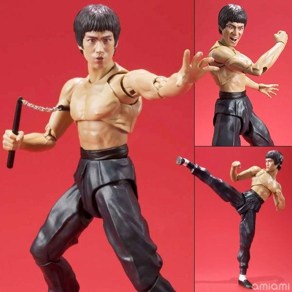SHFiguarts SHF Bruce Lee PVC Action Figure Collectible Model Toy 15cm shf figuarts shfiguarts captain america pvc action figure collectible model toy 16cm