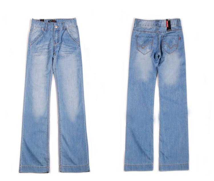 Новое поступление весенние и осенние джинсы женские брюки размера плюс 34 свободные модные длинные большие расклешенные женские брюки джинсы - Цвет: style 630