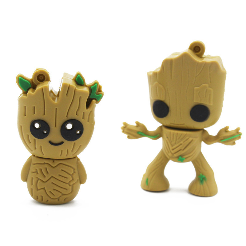 BiNFUL cute cartoon 2.0 USB flash drive RGOOT Genuine Capacity 4GB 8GB 16GB 32GB 64GB  of the Tree Guardians stick PendriveBiNFUL cute cartoon 2.0 USB flash drive RGOOT Genuine Capacity 4GB 8GB 16GB 32GB 64GB  of the Tree Guardians stick Pendrive