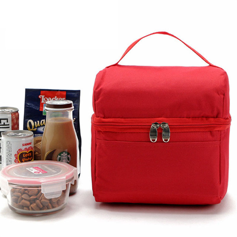 new thermal food bag insulated cooler bags portable coolers picnic bag food delivery bags bolsa termica - Insulated Cooler Bags