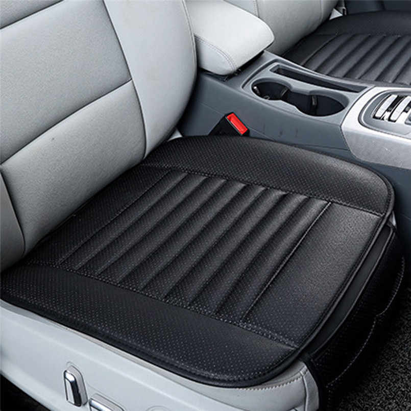 2019 New arrival Breathable Leather Bamboo Car Seat Cover Pad Mat Auto Chair Cushion Universal car-styling Supports