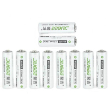 NOUVELLE techology! AA 1.5 v lifepo4 14500 Li-polymère Batterie 10 pcs JUGEE au lithium li-ion 2400mwh AA rechargeable batteries
