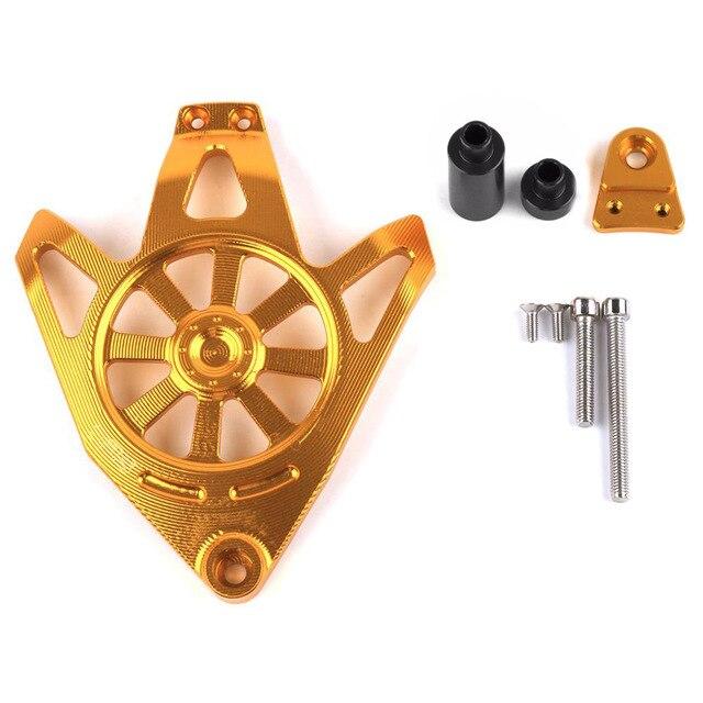 Для Yamaha NVX 155 AEROX 155 аксессуары для мотоциклов CNC алюминиевый защитный чехол для двигателя слайдер крышка протектор - Цвет: Золотой