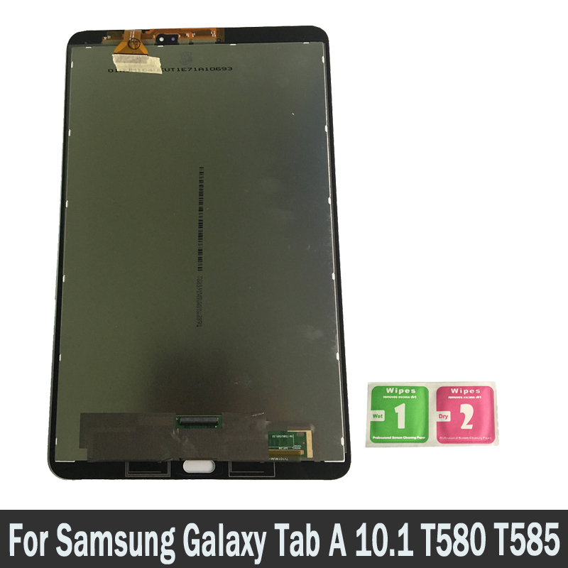 For Samsung GALAXY Tab A 10.1 T580 T585 SM-T580 LCD Display Touch Screen Digitizer Sensors Full Assembly Panel Replacement PartsFor Samsung GALAXY Tab A 10.1 T580 T585 SM-T580 LCD Display Touch Screen Digitizer Sensors Full Assembly Panel Replacement Parts