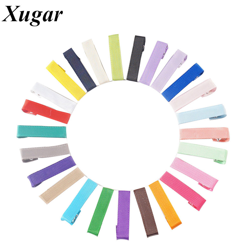 50 Pcs/Lot 1.6'' Mini New Style Fashion Candy Color Boutique Hairpin For Children Baby Girls Party Hair Clips 1 set new girls colorful carton hair clips small crabs hair claw clips mini hairpin kids hair ornaments claw clip