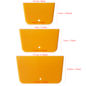 Image 2 - 3 adet/takım vinil sarma uygulama silecek araba filmi çıkartmalar çıkartmaları köşe süslemeleri kazıyıcı pencere tonu uygulama A38