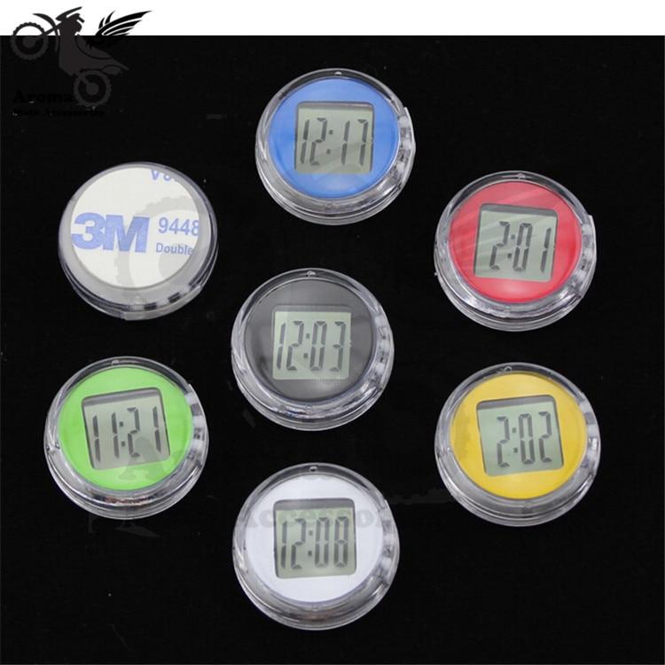 7 kleuren beschikbaar motorfiets klok kleurrijke motor horloge - Motoraccessoires en onderdelen