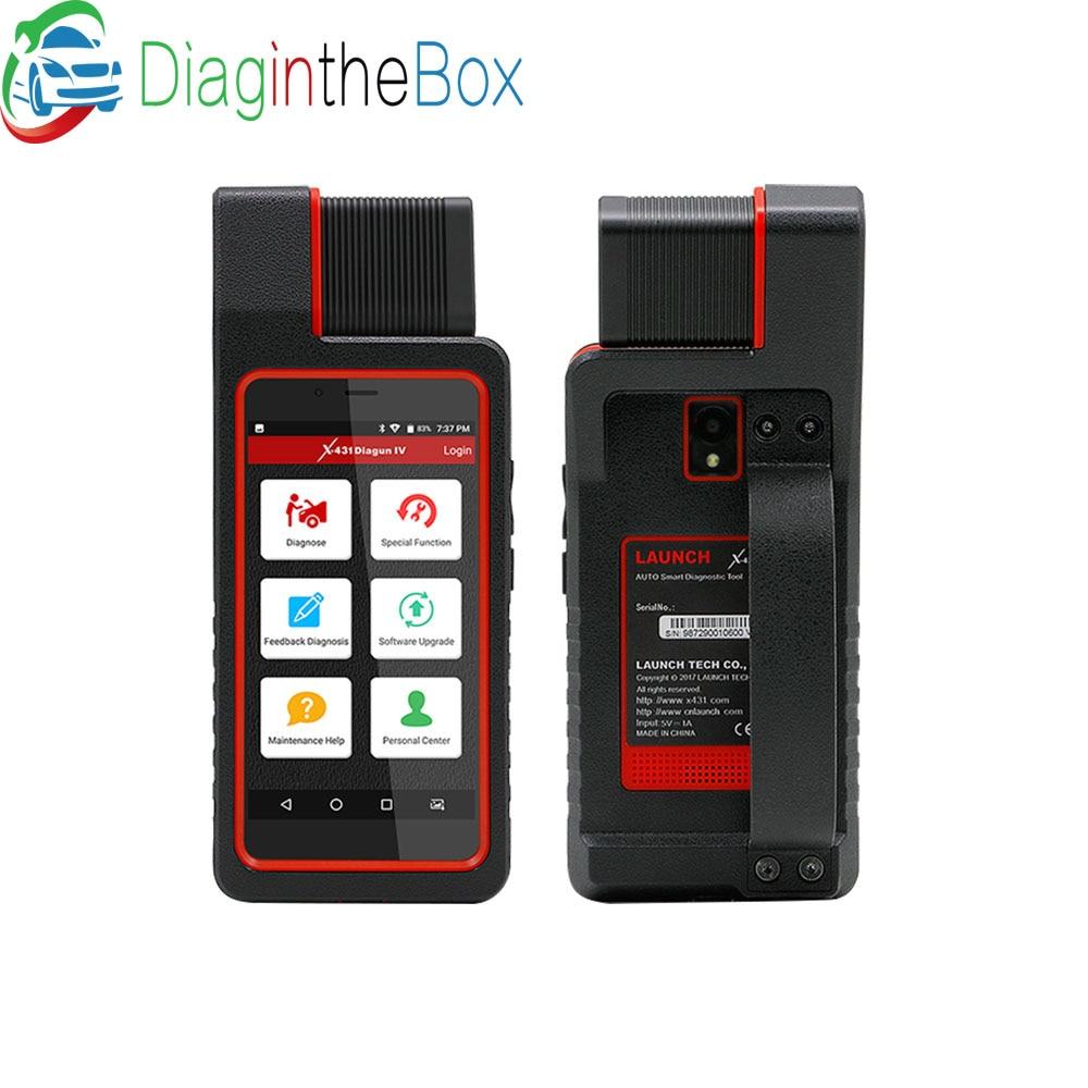 LANCEMENT X431 Diagun IV Système Complet de diagnostic-outil Support Bluetooth Wifi X-431 Diagun IV OBD2 Scanner avec 1 ans mise à jour gratuite