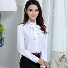 2019 Spring Summer Women's Office Lady Formal Party Lacing Long Sleeve Ruffled N