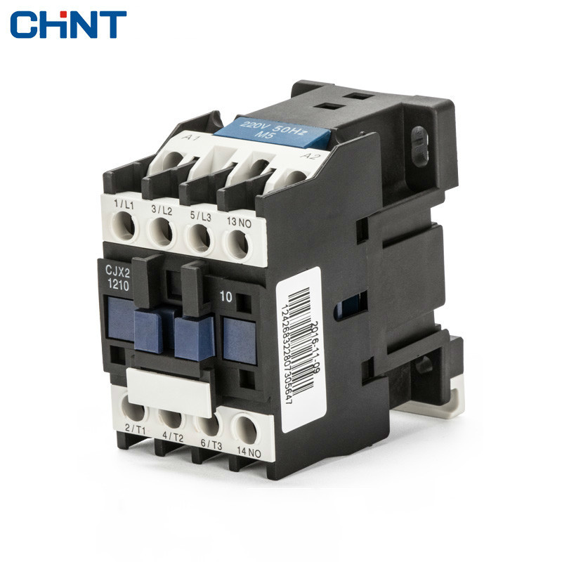CHINT Communication Contactor Cjx2-1210 12a Single-phase 220V Three-phase 380V 110V 24VCHINT Communication Contactor Cjx2-1210 12a Single-phase 220V Three-phase 380V 110V 24V