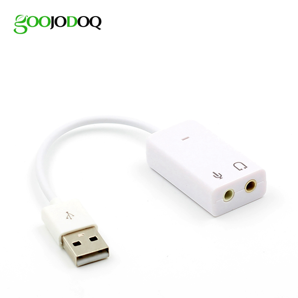 100pcs USB Sound Card Virtual 7.1 3D External USB Audio Adapter USB to Jack 3.5mm Earphone Micphone for Laptop Notebook PC somake virtual surround 5 1 usb 2 0 external sound card