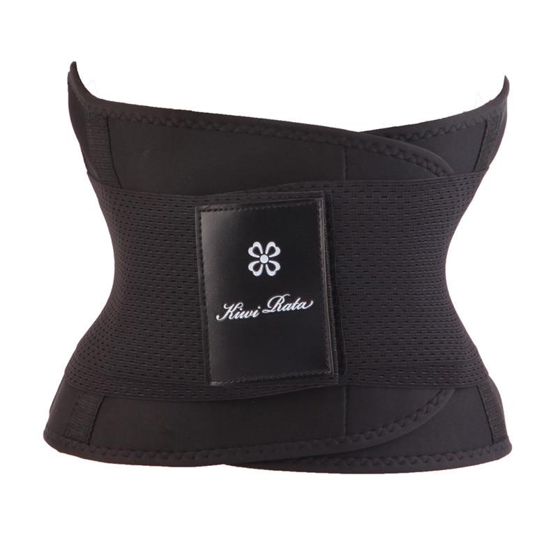 hot shapers women slimming body shaper waist Belt girdles Firm Control Waist trainer corsets plus size Shapwear modeling strap   2