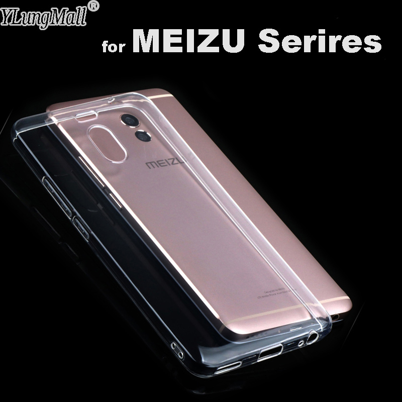Quality Clear Fundas for Meizu M6S M6 M5 M3 Note M3S Mini M5S MX6 Pro 7 6 Plus 5 M5C A5 U10 U20 M3E E2 Metal Phone Case Cover