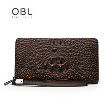 Luxury Brand Double Layer Wallet Men PU Leather Billetera Hombre Paw Print Cartera Mujer Zipper Women Fashion Slim