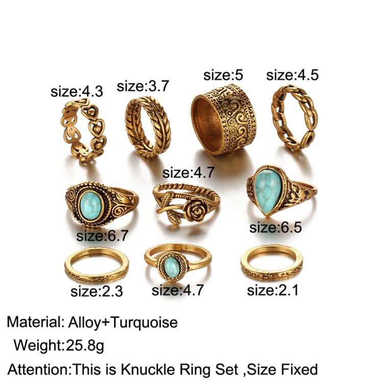 HTB1fqKWRXXXXXXEXFXXq6xXFXXXE 10-Pieces Vintage Tibetan Turquoise Knuckle Ring Set For Women - 2 Colors