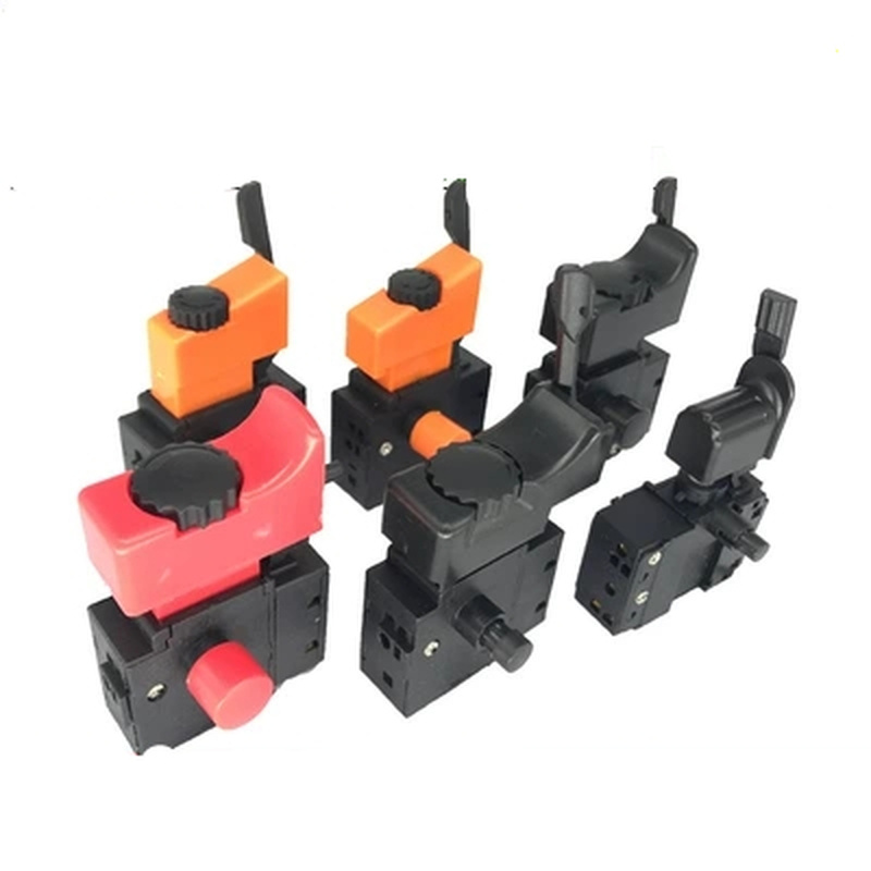 1pc <font><b>AC</b></font> 250V Hand drill speed switch Power <font><b>Tool</b></font> Speed Control Trigger Button with positive and negative Switch Accessories image