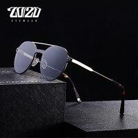20 20 Brand Unisex Retro Men Sunglasses Double Bridge Vintage Eyewear Accessories Sun Glasses For Men