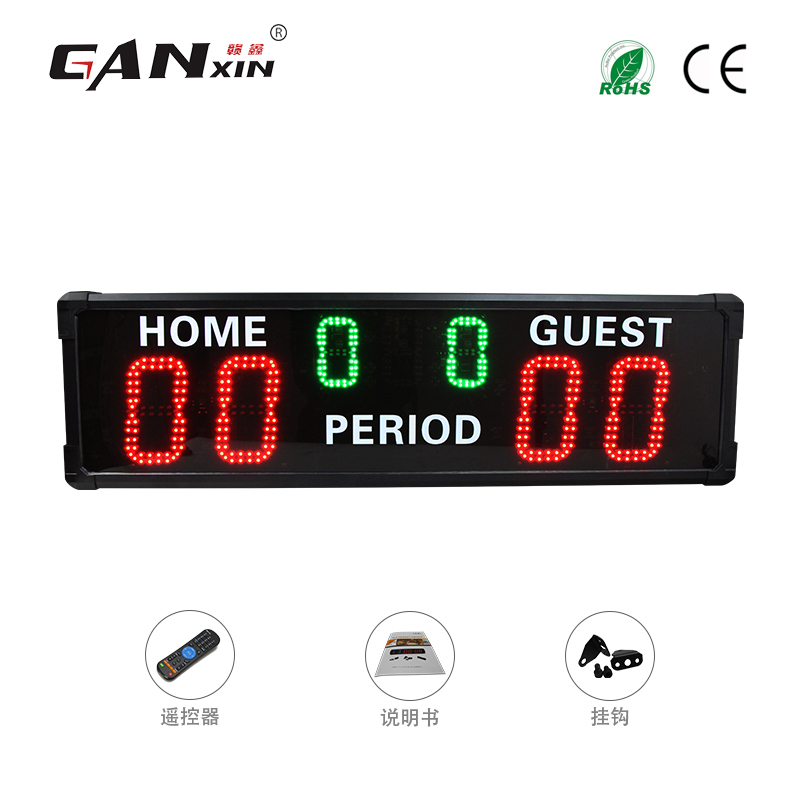 [Ganxin]Remote Control football soccer scoreboard outdoor use
