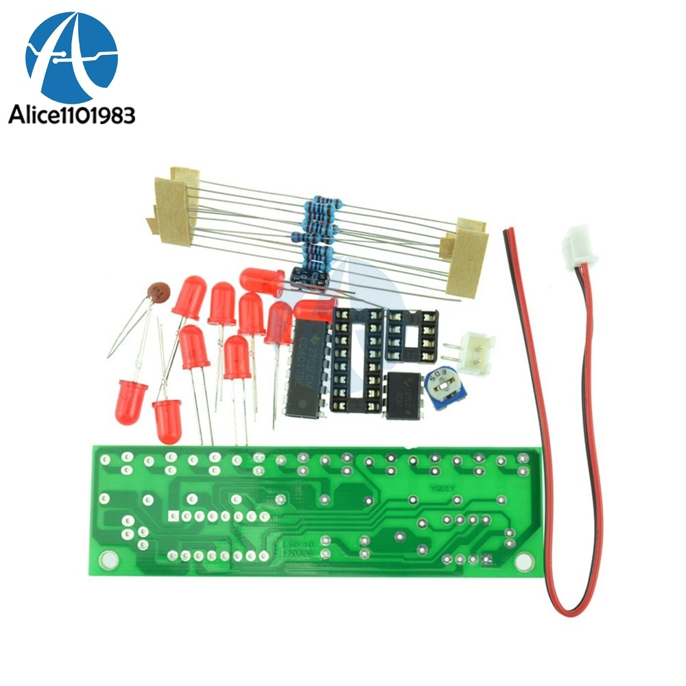 Online Shop 5v Clapper Control Trousse Clap Diy Kit Switch Lighting Products Metal Related Searchesclapper Light Ne555 Cd4017 Practice Learing Kits Led Flashing Lights Module For Arduino Clock Generation Circuit Pcb