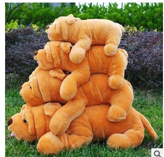 Free Shipping 55CM .65cm.85cm Plush Toy Stuffed Toy ,Super Quality  Dog, Soft Lovey Cute Doll Gift for Children 2pcs 12 30cm plush toy stuffed toy super quality soar goofy