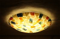 Free UPS EMS Federal Express Mediterranean Sea Shell Lamp LED Creative Interior Art Lighting