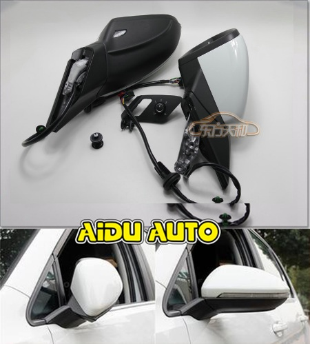USE For VW Golf 7 MK7 VI Mirror With Cover AUTO folding electric folding Mirror Switch