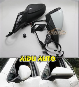 Image 1 - USE For VW Golf 7 MK7 VI Mirror With Cover AUTO folding electric folding Mirror Switch GLASSES Cover 5GG
