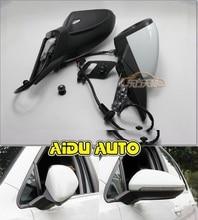 VW 골프 7 MK7 VI 거울에 대 한 사용 자동 접는 전기 접는 미러 스위치 안경 커버 5GG