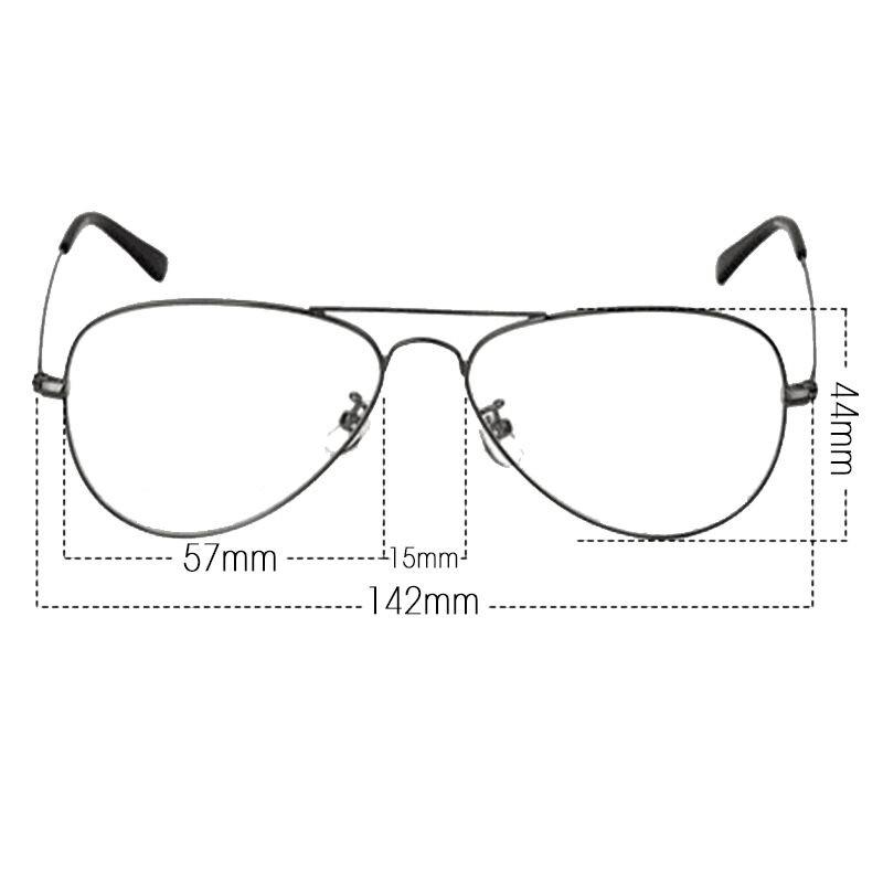 544db62c9bc61 Compre Óculos De Armação De Metal Redondo Retro Dos Homens E Das ...