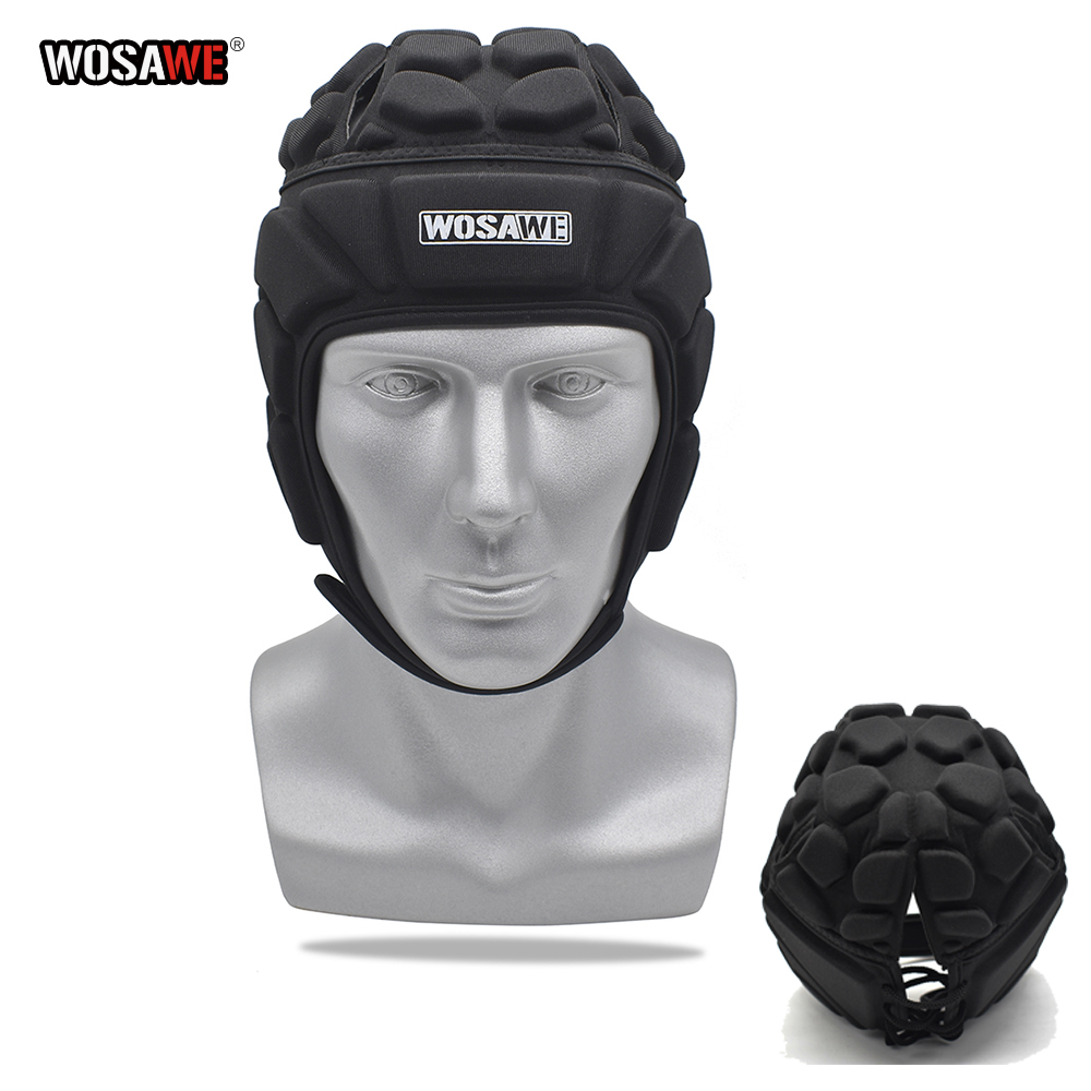 WOSAWE Motorcycle Headgear Protective Gear Men Women Sports Ice Hockey Guard Goalie Hat Head Protector Soccer Goalkeeper Helmet-in Protective Gears Accessories from Automobiles & Motorcycles