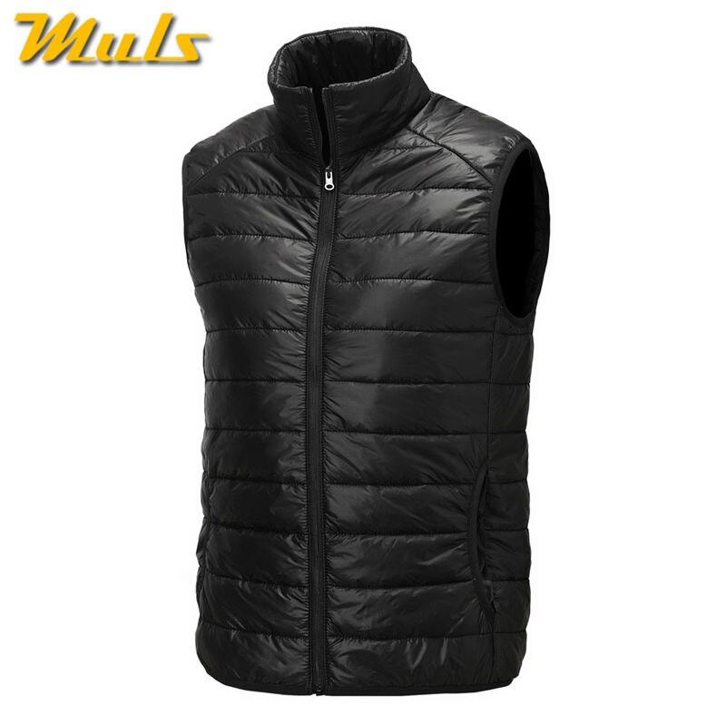 8Colors Muls down jacket vest men High quality winter mens ...