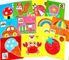 96Pcs 48Pcs Kids Cartoon Color Paper Folding and Cutting Toys Children Kingergarden Art Craft DIY Educational Toys GYH discount