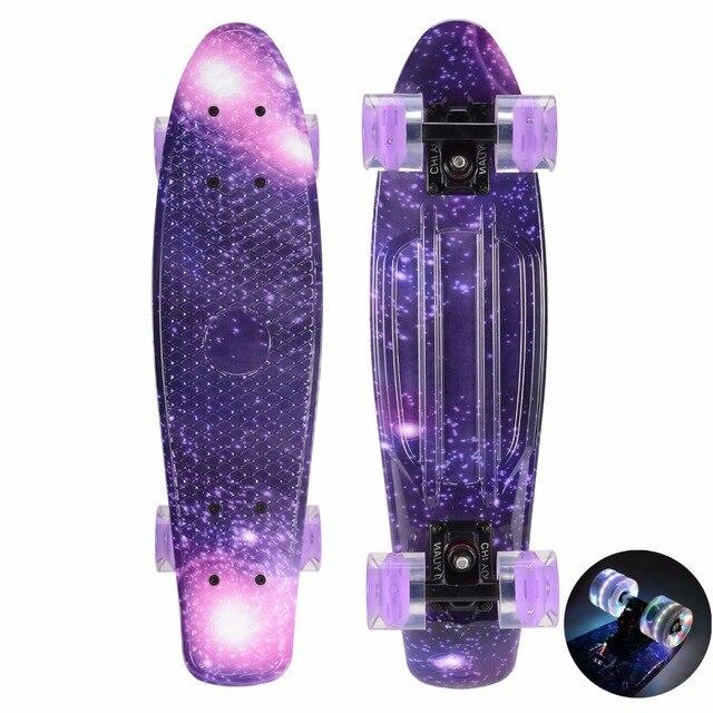 Plastic Skateboard Mini Cruiser Board 22 Quot X 6 Quot Retro