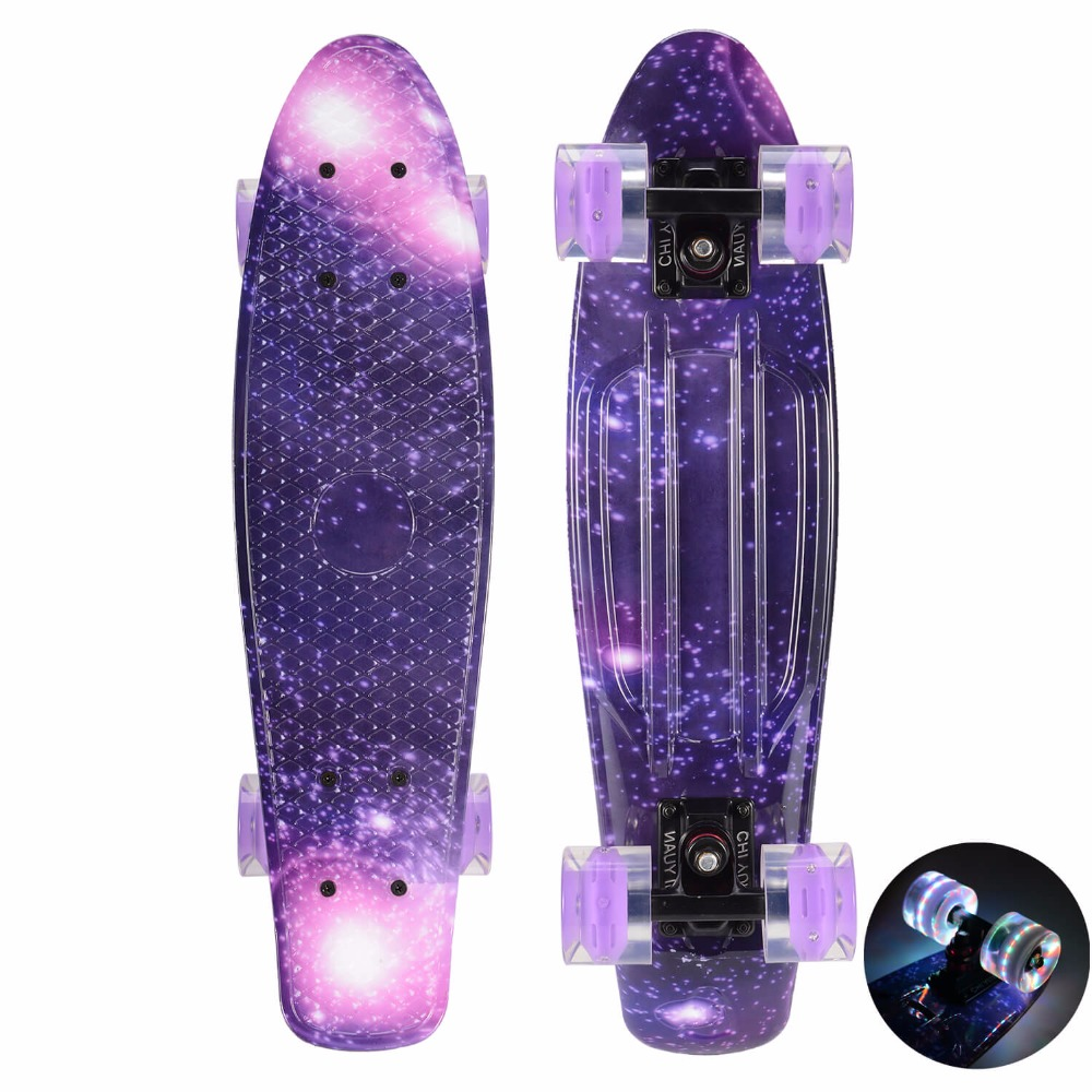 Plastic Skateboard Penny Board Mini Cruiser Board 22
