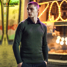 VIISHOW Mens Pullover Sweater Round Neck Knitting Sweater Mens Hip Hop Brand Sweater Men Clothes M-XXL ZC21363