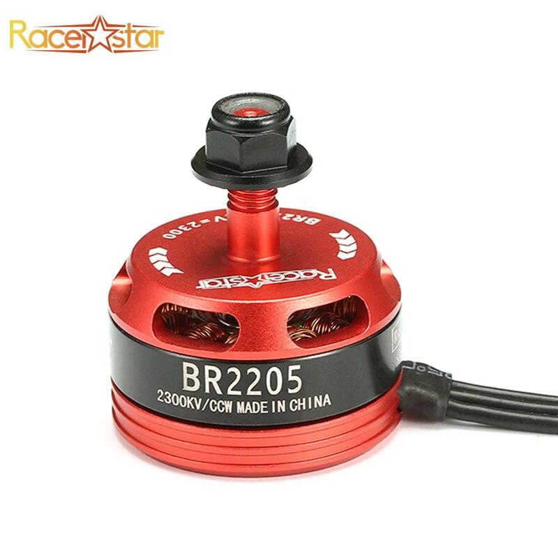 New Arrival 4pcs Racerstar 2205 BR2205 2300KV 2-4S Brushless Motor 2 CW & 2 CCW For QAV250 ZMR250 260 Multirotor