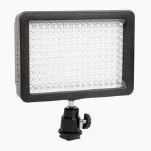 Оригинал 7.5 В 12 Вт Видео Свет 165 СВЕТОДИОДНЫЕ Фонари Лампа Фотографическая Освещение 5600 К Для Canon Видеокамера Мини DVR