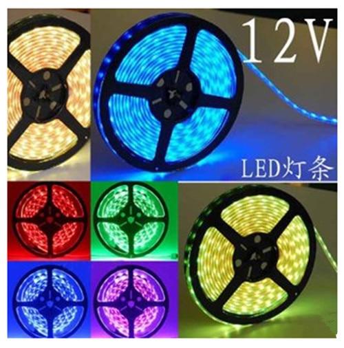 Bright 5050 Tape Light: 5m/lot 5050 LED Strip Light Waterproof DC12V 60LEDs/m