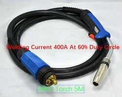 Gros Original haute qualité Binzel 36KD Mig torche MIG/MAG CO2 torche de soudage 5M 50CM2 câble épais avec connecteur Euro