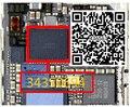 3 шт./лот Оригинальный новый для Iphone 6 6 + 6 plus U2402 сенсорный экран драйвер контроллера IC чип черный цвет