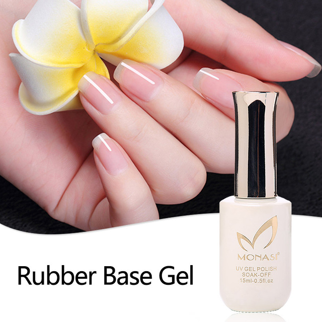 Long Lasting Soak Off Primer Gel Rubber Base Thick Nail Polish