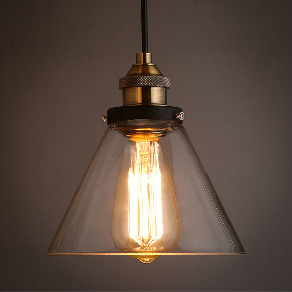 MAMEI Free Shipping Vintage Style Glass Pendant Lights With Clear Glass Lamp Shade CE And FCC Quality  110-240V кремы the skin house ферментированный крем wrinkle away 50 мл