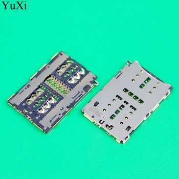 YuXi for Huawei P20 Lite SIM Card Slot Reader SIM Card Connector Socket Holder Tray Reader for Huawei Nova 3E Repair Spare Parts for huawei p20 lite usb plug charger board microphone module cable connector for huawei nova 3e digitizer phone parts repair kit