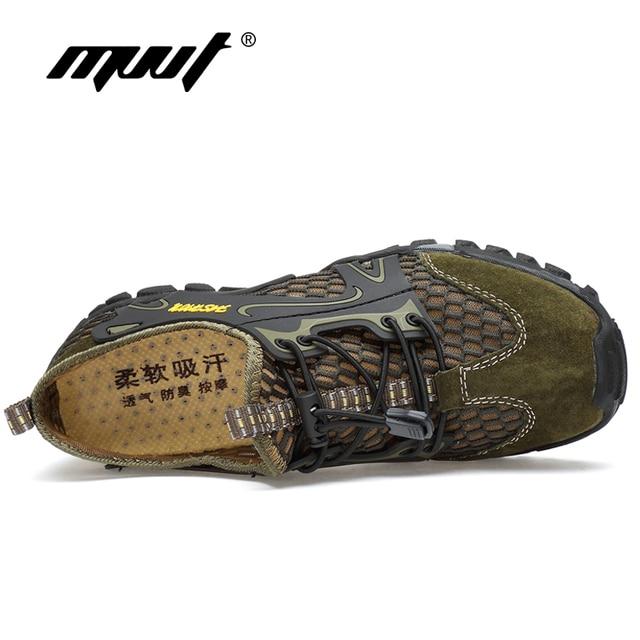 Summer Breathable Men Hiking Shoes 4