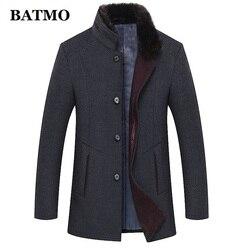 BATMO 2019 neue ankunft winter hohe qualität wolle casual graben mantel männer, männer thicked wolle jacken plus-größe M-6XL 1658