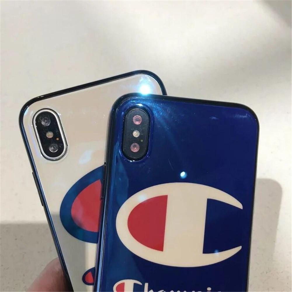Fashion Champion Brand Blu Ray Imd Phone Case For Iphone X