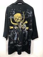 LAUKEXIN Motorhead Heavy Metal Rock Band T Shirt 2 Side Printed Black Short Sleeve Quality T
